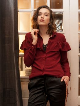 Skye Red - Blouse - Sofie Schnoor